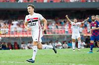 São Paulo (SP), 15/12/2019 - Futebol-Legendscup - Dagoberto do São Paulo comemora o gol. Final entre as lendas de São Paulo e Barcelona no estádio do Morumbi, em São Paulo (SP), domingo (15).