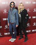 Rami Jaffee and Daryl Hannah at The L.A.Premiere of Sound City held at The Cinerama Dome in Hollywood, California on January 31,2013                                                                   Copyright 2013 Hollywood Press Agency