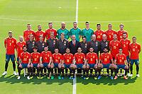 Spain's team photo. June 5,2018.(ALTERPHOTOS/Acero) /NortePhoto.com NORTEPHOTOMEXICO