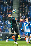 Sergio Ramos of Real Madrid in action during the La Liga 2017-18 match between RCD Espanyol and Real Madrid at RCDE Stadium on 27 February 2018 in Barcelona, Spain. Photo by Vicens Gimenez / Power Sport Images