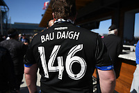 SAN JOSE, CA - FEBRUARY 29: Fans during a game between Toronto FC and San Jose Earthquakes at Earthquakes Stadium on February 29, 2020 in San Jose, California.