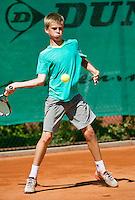 August 4, 2014, Netherlands, Dordrecht, TC Dash 35, Tennis, National Junior Championships, NJK,  Reinier Pijs (NED)<br /> Photo: Tennisimages/Henk Koster