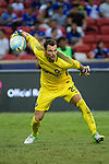 FC Internazionale Goalkeeper Daniele Padelli in action during the International Champions Cup 2017 match between FC Internazionale and Chelsea FC on July 29, 2017 in Singapore. Photo by Weixiang Lim / Power Sport Images