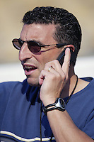 Toronto Blue Jays General Manager J.P. Ricciardi before a 2002 MLB season game against the Los Angeles Dodgers at Dodger Stadium, in Los Angeles, California. (Larry Goren/Four Seam Images)