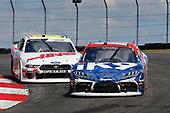 #18: Jack Hawksworth, Joe Gibbs Racing, Toyota Supra iK9 and #00: Cole Custer, Stewart-Haas Racing, Ford Mustang Haas Automation