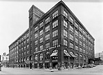 Pittsburgh PA:  View of Pittsburgh Gage & Supply Company at 3000 Penn Avenue in the Strip District.