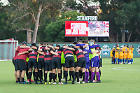 AND, A - SEPTEMBER 11: Team during a game between San Jose State and Stanford University at And on September 11, 2021 in And, A.