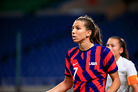 SAITAMA, JAPAN - JULY 24: Tobin Heath #7 of the United States during a game between New Zealand and USWNT at Saitama Stadium on July 24, 2021 in Saitama, Japan.