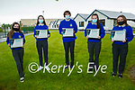 Students, Shaoirse Reidy, Lauren O'Sullivan, Michael O'Shea, Siobhan O'Donoghue and Ellie Lenihan from the Castleisland Community College who won the Kerry ETB Student Awards 2020