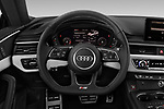 Car pictures of steering wheel view of a 2019 Audi S5 Premium-Plus 2 Door Coupe Steering Wheel