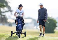 Mako Thompson during the New Zealand Amateur Golf Championship, Poverty Bay Golf Course, Awapuni Links, Gisborne, Friday 23 October 2020. Photo: Simon Watts/www.bwmedia.co.nz