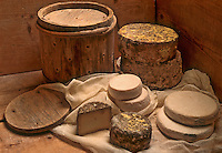 Europe/France/Rhône-Alpes/74/Haute-Savoie/ENV. d'Annecy/Manigod: Fromages des Savoies Reblochon, Tomme et Persillé