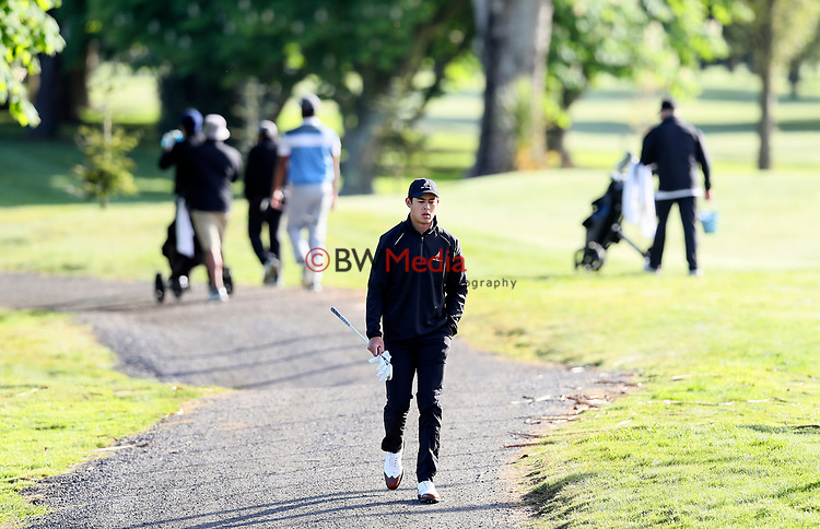 Denzel Ieremia of New Zealand during the Asia Pacific Amateur Golf Championship Round Two, Royal Wellington Golf Course, Wellington, New Zealand, 27 October2017.  Photo: Simon Watts/www.bwmedia.co.nz