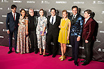The cast of Velvet attends to the award ceremony of the VIII edition of the Cosmopolitan Awards at Ritz Hotel in Madrid, October 27, 2015.<br /> (ALTERPHOTOS/BorjaB.Hojas)