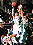 Alabama A&M Bulldogs guard Whiquitta Tobar (23) in action during the SWAC Tournament game between the Mississippi Valley State Devilettes and the Alabama A&M Bulldogs at the Special Events Center in Garland, Texas. Mississippi Valley State defeats Alabama A & M 52 to 51