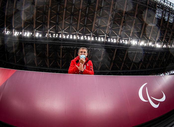 Tokyo 2020 - Para Athletics // Para-athlétisme.<br /> Amy Watt competes in the women's long jump T47 final // Amy Watt participe à la finale du saut en longueur féminin T47. 03/09/2021.
