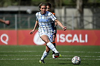 Stefania Tarenzi of FC Internazionale in action during the Women Serie A football match between AS Roma and FC Internazionale at stadio Agostino Di Bartolomei, Roma, March 20th, 2021. AS Roma won 4-3 over FC Internazionale. Photo Andrea Staccioli / Insidefoto
