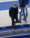 17.10.2020, OLympiastadion, Berlin, GER, DFL, 1.FBL, Hertha BSC VS. VfB Stuttgart, <br /> DFL  regulations prohibit any use of photographs as image sequences and/or quasi-video<br /> im Bild Cheftrainer Bruno Labbadia (Hertha BSC Berlin), <br /> <br />     <br /> Foto © nordphoto /  Engler