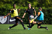 BEAVERTON, Ore. - August 12, 2013: 2013 US Soccer National Combine held at Nike Headquarters.