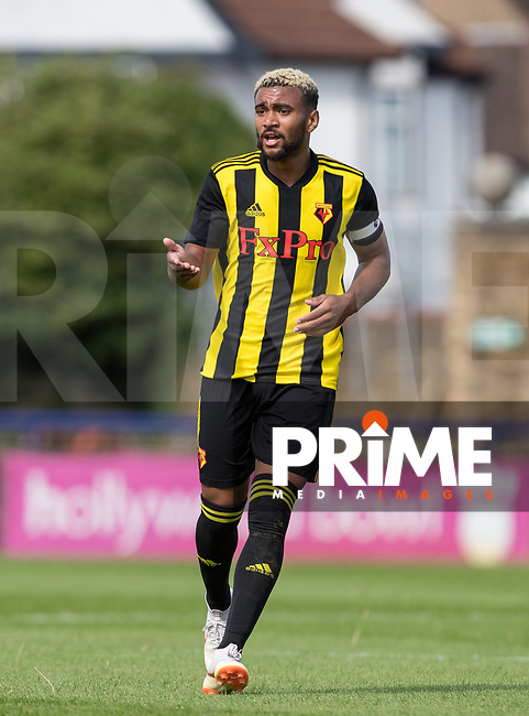 Ashley Charles of Watford during the Professonal Development League match between Watford U23 and Sheffield United U23 at The Maurice Rebak Stadium, Summers Lane, England on 17 August 2018. Photo by Andy Rowland.