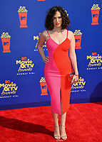 SANTA MONICA, USA. June 16, 2019: Kate Siegel at the 2019 MTV Movie & TV Awards at Barker Hangar, Santa Monica.<br /> Picture: Paul Smith/Featureflash