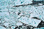 Warming temperatures and strong tidal currents team to break up thick sea ice