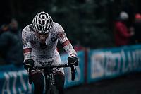 Mathieu van der Poel (NED/Beobank-Corendon)<br /> <br /> Elite Men's race<br /> UCI CX World Cup Namur / Belgium 2017