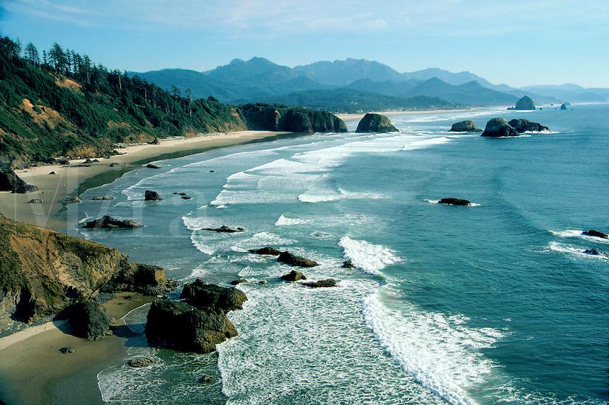 Cannon Beach at Ecola Park, Oregon Coast