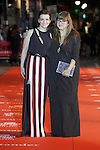 Spanish film director Isabel Coixet (r) and French actress Juliette Binoche during the 60th Seminci. October 31,2015.(ALTERPHOTOS/Acero)