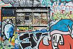 May Lane street art in St. Peters, Sydney, NSW, Australia