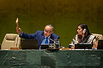 General Assembly Seventy-fourth session, 5th plenary meeting<br /> <br /> ending of 5th session