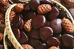 fruits tropicaux.