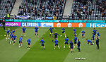 14.06.2021 Scotland v Czech Republic:  Scotland warm up