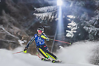 29th December 2020; Semmering, Austria; FIS Womens Giant Slalom World Cup Skiing; Emelie Vikstroem of Sweden during her 2nd run of women Slalom competition of FIS ski alpine world cup at the Panoramapiste in Semmering