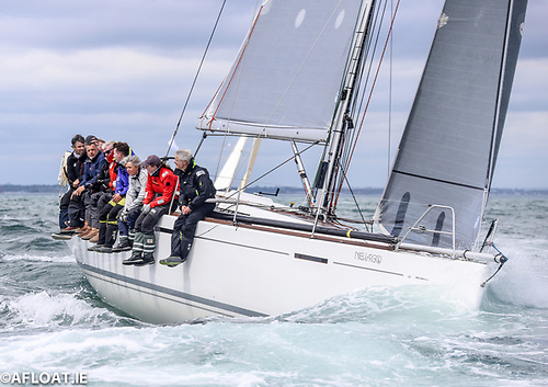 The Murphy family's Grand Soleil 40 Nieulargo is leading the Dun Laoghaire Dingle Race on corrected time