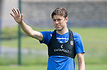 St Johnstone Training….29.06.19   McDiarmid Park, Perth<br />Murray Davidson<br />Picture by Graeme Hart.<br />Copyright Perthshire Picture Agency<br />Tel: 01738 623350  Mobile: 07990 594431