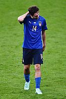 6th July 2021; Wembley Stadium, London, England; Euro 2020 Football Championships semi-final, Italy versus Spain; Federico Chiesa (Ita)