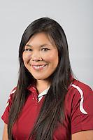 STANFORD, CA - Megan Azeby of the Stanford University Women's Synchronized Swimming Team
