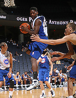 Dai-Jon Parker at the NBPA Top100 camp at the John Paul Jones Arena Charlottesville, VA. Visit www.nbpatop100.blogspot.com for more photos. (Photo © Andrew Shurtleff)