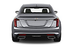Straight rear view of 2020 Cadillac CT5 Premium-Luxury 4 Door Sedan Rear View  stock images