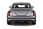 Straight rear view of 2020 Cadillac CT5 Premium-Luxury 4 Door Sedan Rear View  stock images
