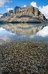 Bow Lake, Banff National Park. Alberta, Canada