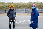 After enjoying their swim in Banna beach on Saturday, l to r: Mary Dowling and Rachel Fitzgerald.
