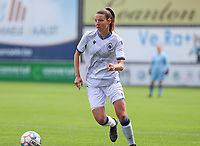 Brugge's Nicky VAn Den Abbeele (28) in action a female soccer game between Eendracht Aalst and Dames Club Brugge YLA on the first matchday of the 2020 - 2021 season of Belgian Women's SuperLeague , friday 28 of August 2020  in Aalst , Belgium . PHOTO SPORTPIX.BE | SPP | SEVIL OKTEM