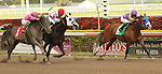 Fort Loudon (#5) with Jose Lezcano wins the 37th running of the Gulfstream Park Sprint (Grade 3) for 4-year olds & up, going 7 furlongs, at Gulfstream Park.  Trainer Nick Zito.  Owner Jacks or Better Farms, Inc.