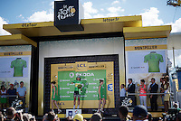 green jersey for Peter Sagan (SVK/Tinkoff)<br /> <br /> stage 11: Carcassonne - Montpellier (162km)<br /> 103rd Tour de France 2016