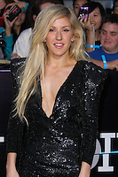 """WESTWOOD, LOS ANGELES, CA, USA - MARCH 18: Ellie Goulding at the World Premiere Of Summit Entertainment's """"Divergent"""" held at the Regency Bruin Theatre on March 18, 2014 in Westwood, Los Angeles, California, United States. (Photo by Xavier Collin/Celebrity Monitor)"""