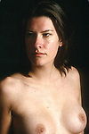 BREASTS OF MODEL POSING FOR PHOTOGRAPHERS