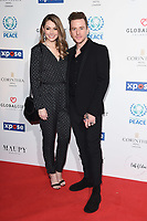 Danny Jones<br /> arriving for the Football for Peace initiative dinner by Global Gift Foundation at the Corinthia Hotel, London<br /> <br /> ©Ash Knotek  D3493  08/04/2019