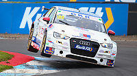 29th August 2020; Knockhill Racing Circuit, Fife, Scotland; Kwik Fit British Touring Car Championship, Knockhill, Qualifying Day; James Gornall puts his Audi through its paces